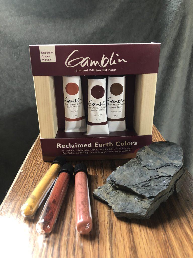 Gamblin's Reclaimed Earth Colors